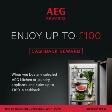 Up to £100 Cashback by Customer Redemption