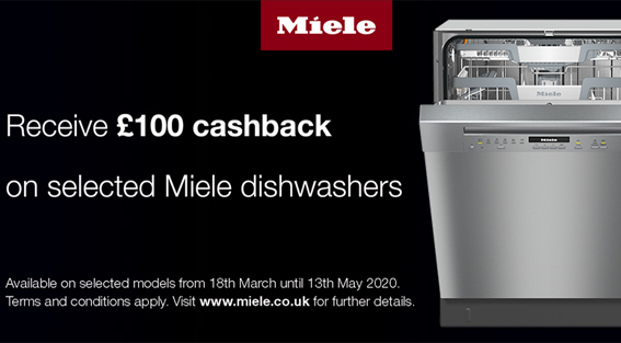 Up to £100 Cashback available by customer redemption