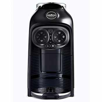 Lavazza DESEA-BK Coffee Machine + Milk - Black