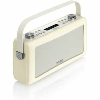 ViewQuest HEPBURNCR Designer DAB Radio Cream