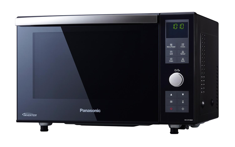 Panasonic Nndf386bbpq Combination Oven Black Hbh