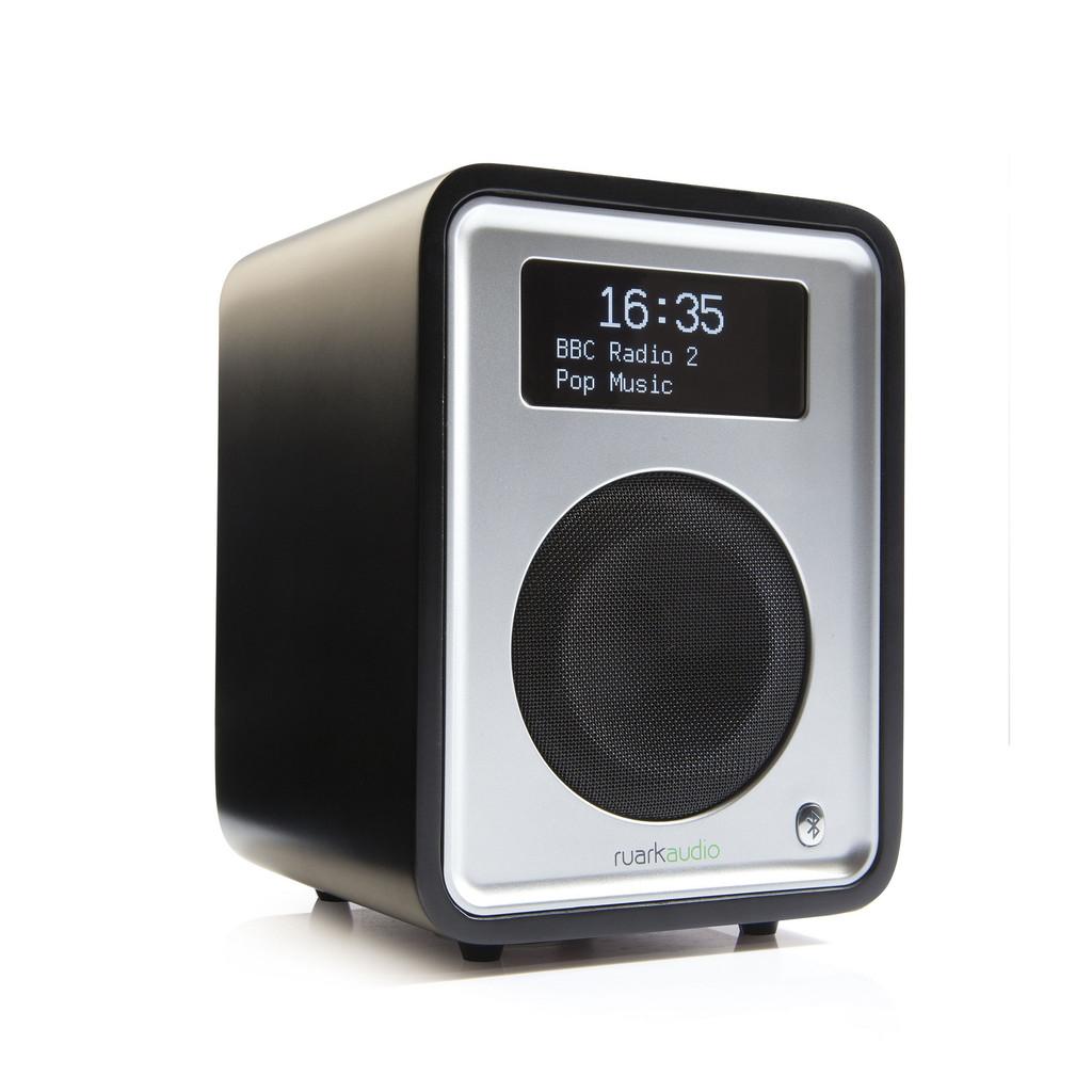 ruark audio r1mk3bk deluxe tabletop radio black hbh. Black Bedroom Furniture Sets. Home Design Ideas