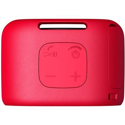 Sony SRSXB01R Portable Bluetooth Speaker - Red