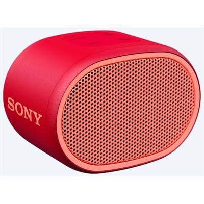 Sony SRSXB01R Portable Bluetooth Speaker - Red